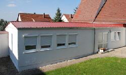 Dachdeckungen mit Trapezblech 22-214 mm, rot
