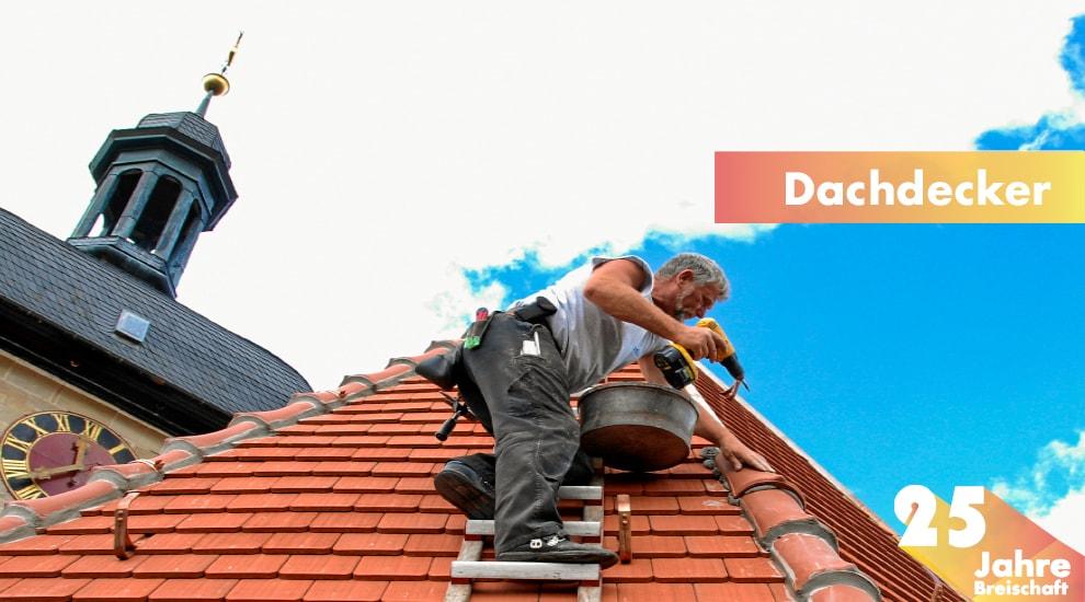 25 Jahre, Dachdecker, Dacharbeiten